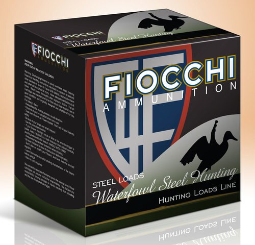 "Fiocchi Speed Steel 20 Ga, 3"", 1 oz, #3, 1500FPS, 25rd/Box"