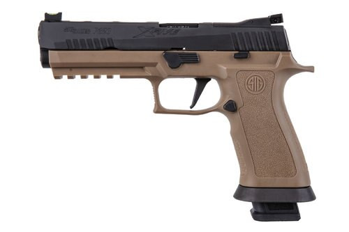 "Sig P320 M17, 9mm, 5"", 17rd, Nitron Slide, Coyote Tan"