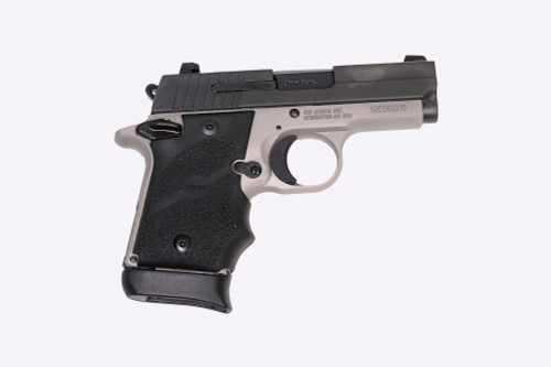 "SIG P938 Ghost 9mm, 3"" Barrel, Contrast Sights, Nitron Slide, Black Frame, 7rd"