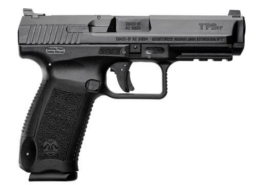"Canik TP9SF ONE Series, 9mm, 4.46"", Warren Tactical Sights, Black Cerakote, 18rd"