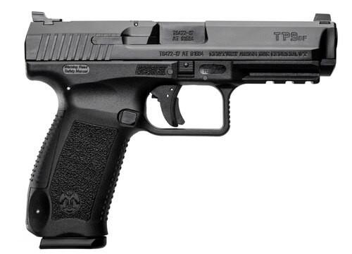 "CANIK, TP9SF One Series, Striker Fired, 9mm, 4.46"" Barrel, Polymer Frame, Black, Warren Tactical, 1 Magazine, 18Rd"
