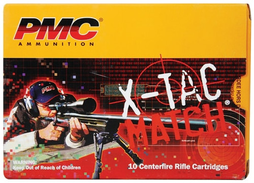 PMC X-Tac Match .50BMG 740gr, Solid Brass, 10rd/Box