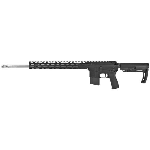 "Radical AR-15 6.5 Grendel 20"" Barrel 1:9 Twist, Black MFT Stock, Pepper Pot Muzzle Brake, 15"" RPR M-LOK Handguard, 15rd Mag"