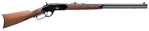 "Winchester Model 1873 Deluxe Sporter Lever 45 Colt 24"" Grade III/IV Walnut Stock Blued"