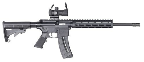 "Smith & Wesson M&P15-22 Sport 22LR, 16.5"", 6-Position Stock, M-Lok, 25rd"