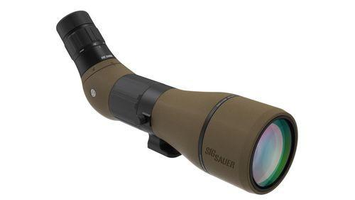 Sig Oscar8, 27-55x80mm, HDX Lens, Angeled Eyepiece, Flat Dark Earth