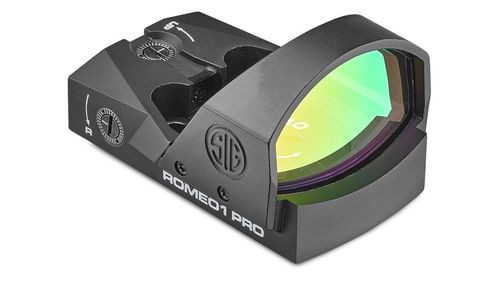 Sig Romeo 1 Pro, 1x30mm Red Dot, 6 MOA, Black
