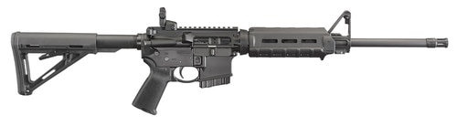 "Ruger AR-556 *CO Compliant* AR-15 223/5.56 16.1"" Magpul MOE Black Stock 10rd Mag"