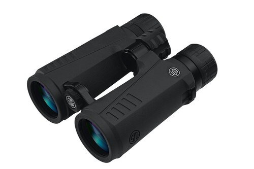 Sig Zulu 5 Binocular,12X42mm, HD Lens, Open Bridge, Black