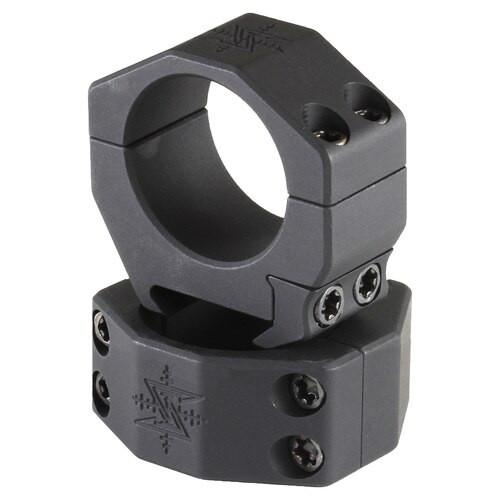 "Seekins Precision, Scope Ring, .87"" Medium, 30mm, 4 Cap Screw, Black"