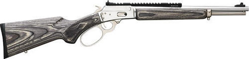 "Marlin 1894 SBL Modern Lever Hunter MLH Custom Shop, 44Mag/44 Special 16"" Barrel, Stainless Steel, Happy Trigger, Action Job"