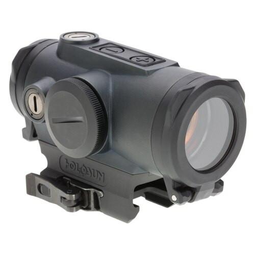 Holosun HE530G-RD Elite, Green Circle Dot, 2 MOA dot/65 MOA circle dot, Black