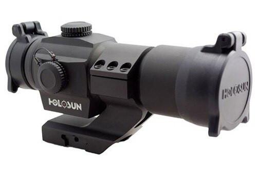 Holosun HS506 HS Classic, 2 MOA Dot/65 MOA Circle, Multi-Reticle, Black