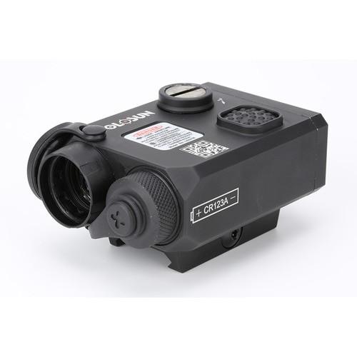 Holosun LS321G, Coaxial, Green/IR Laser & Illuminator, Black