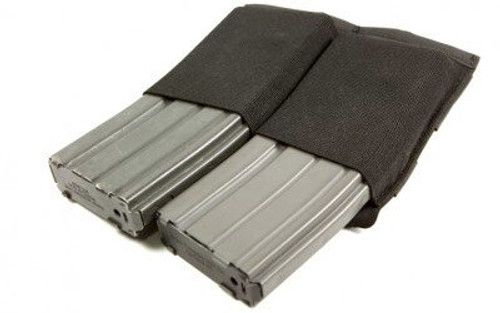 Blue Force Gear Ten Speed Double Magazine Pouch, For M4, Black
