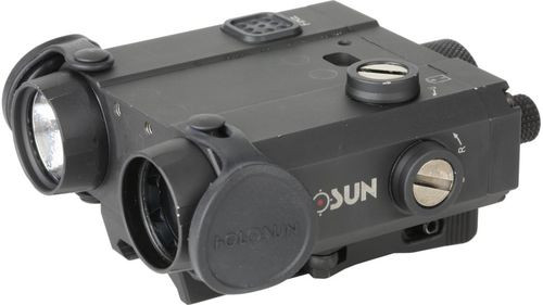 Holosun LS420, Coaxial, Green/IR Laser & Illuminator, White LED Flashlight, Black