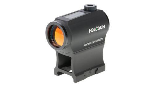 Holosun HE403C-GR Elite, Micro Green Dot, 2 MOA, Black