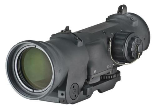 Elcan Optics Specter Dual Role 1.5x/6x Optical Sight CX5456 Illuminated Crosshair Reticle 7.62mm Black