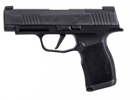 "Sig P365 XL 9mm, 3.7"" Barrel, Optic Ready, Black, 12rd"