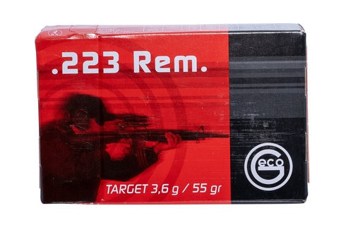 Geco 223 Rem 55gr, FMJ, 50rd Box