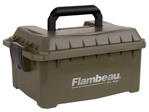 "Flabeau Shotshell Ammo Can, 3.5"" Shotshells, 9.6Lx7.5Wx4.25D"