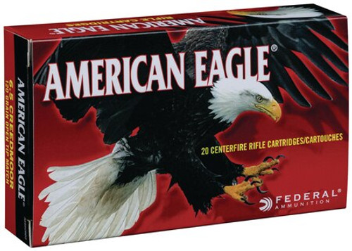 Federal American Eagle 6.5 Creedmoor 120gr, Open Tip Match, 20rd Box