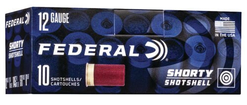 "Federal Shorty Target 12 Ga 1.75"" 8 Shot, 10rd/Box"