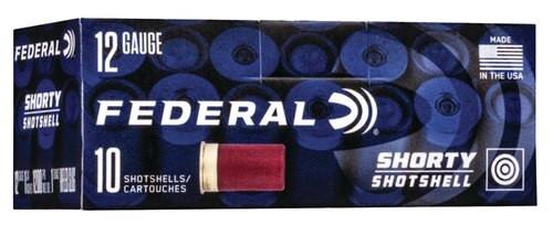 "Federal Shorty Target 12 Ga 1.75"" Slug 1oz, Slug Shot, 10rd/Box"