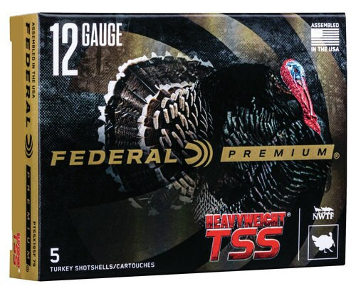 "Federal TSS 12 Ga, 3.5"", 2-1/4oz Combo, 1000 FPS, 5rd/Box"