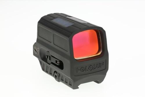 Holosun HE512C-GD, Reflex Gold Dot, Multi-reticle, Solar, Black