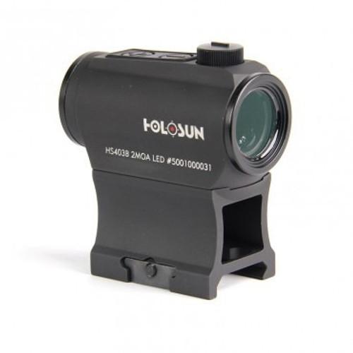 Holosun HS403B, Red Dot, 2 MOA, Shake Awake, Black