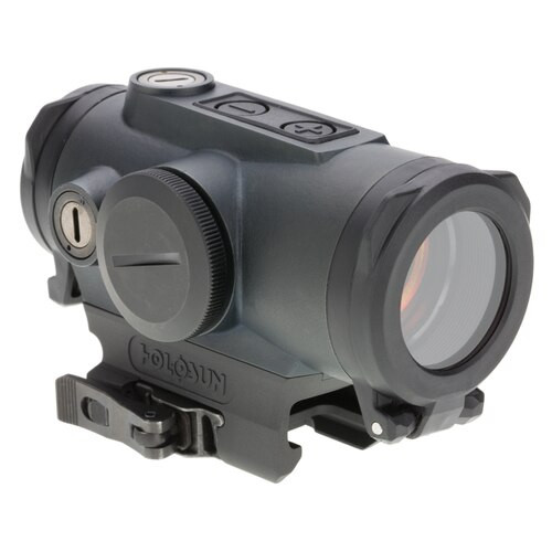 Holosun HE530G-RD Elite, Red Dot, 2 MOA Dot/65 MOA Ring, QD, Black