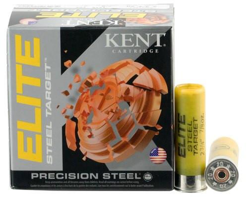 """Kent Elite Steel Target 20 Ga, 2.75"""", 7/8oz, 7 Shot, 25rd/Box"""