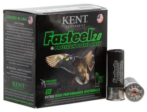"Kent Fasteel Waterfowl 12 Ga, 2.75"", 1-1/16oz, 6 Shot, 25rd/Box"