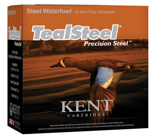 "Kent TealSteel Waterfowl 20 Ga, 3"", 1oz, 6 Shot, 25rd/Box"