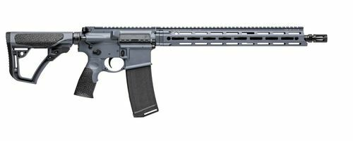 "Daniel Defense DDM4V7 223 Rem/5.56mm, 16"" Barrel, Tornado Grey, M-Lok, 10rd, CA Compliant"