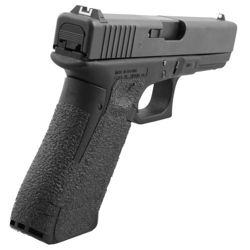 Talon Glock 17 Gen5 Granulate Adhesive Grip Textured Rubber Black
