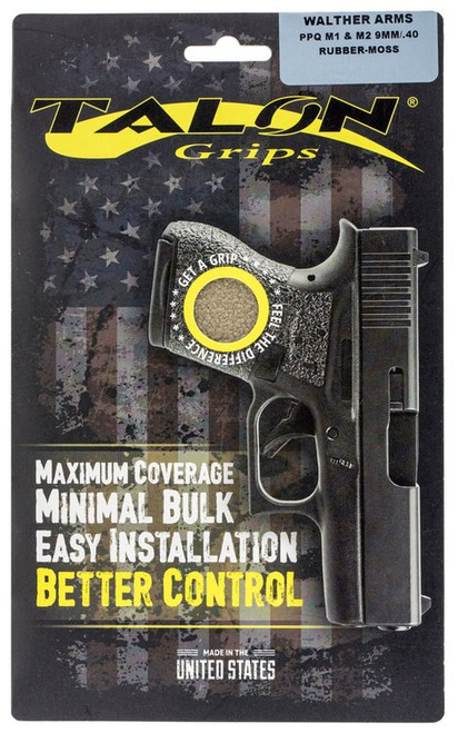 Talon Walther PPQ M1/M2 Rubber Adhesive Grip Textured Moss