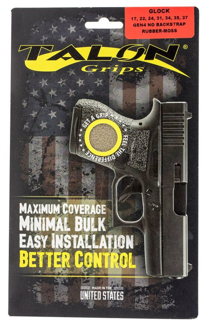 Talon Glock 17/22/24/31/34/35/37 Gen 4 without Backstrap Rubber Adhesive G