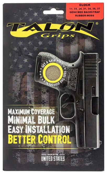 Talon Glock 17/22/24/31/34/35/37 Gen 4 with Medium Backstraps Rubber Adhes