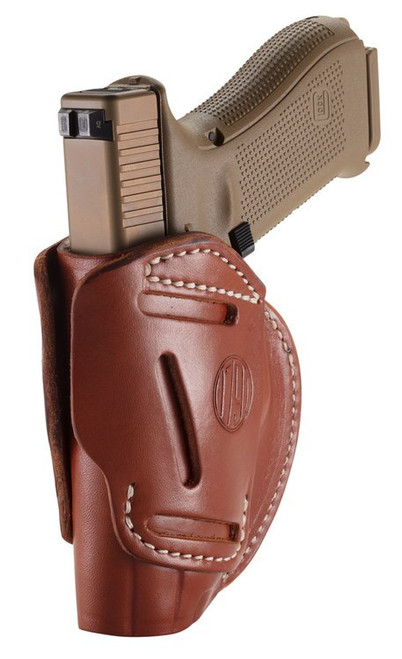 1791 Gunleather 3 Way Glock 17/HK VP9/S&W M&P9/Springfield XD9, Steerhide, Brown