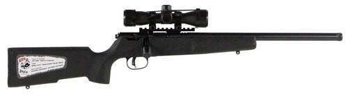Savage Rascal Target XP 22LR, Scope/Bipod