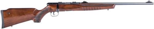 """Savage B22 G 22 LR, 21"""" Barrel, Walnut Stock Black, 10rd"""