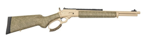 "Marlin 1894 CSBL MLH Custom Shop 357/38Sp 16"" Barrel Tan Cerakote, OD Green Stock, Action Tuned, Happy Trigger, Hard Case"