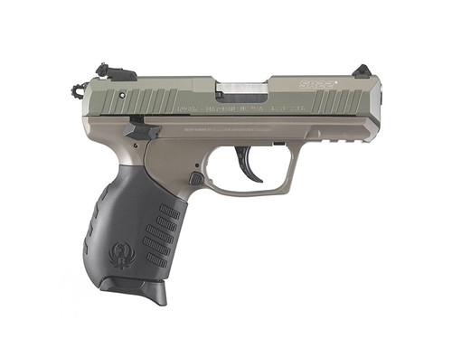 "Ruger SR22 TALO Limted Edition 22LR 3.5"" Barrel Elite Earth Cerakote Frame, Jungle Green Slide"
