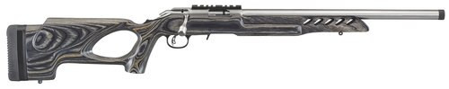 """Ruger American Rimfire Target, .22 LR, 18"""", 10rd, Thumbhole Stock, Stainless Steel"""