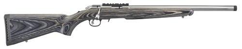 "Ruger American Rimfire Target, .22 LR, 18"", 10rd, Laminate Black Stock"