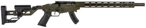 "Ruger Precision Rimfire, .22 LR, 20"", 15rd, OD Green"