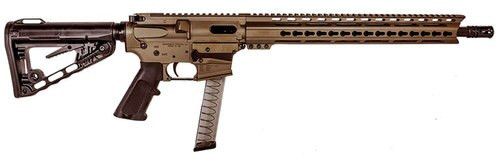 "Diamondback DB9, 9mm, 16"", 31rd, Rogers Super-Stoc, Burnt Bronze"