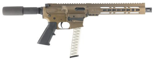"Diamondback DB9, 9mm, 10"" Barrel, 31rd, Burnt Bronze"